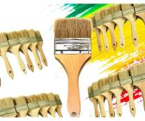 PANCLUB Chip Paint Brushes Bulk 3 inch | 28 Pack of Paint Brush for Home Wall Trim House | for Paint, Gesso, Glues, Varnishes, Stains, and Acrylics