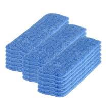 18 inch Microfiber Mop Wet Mop Pad Refills (18 Pack)