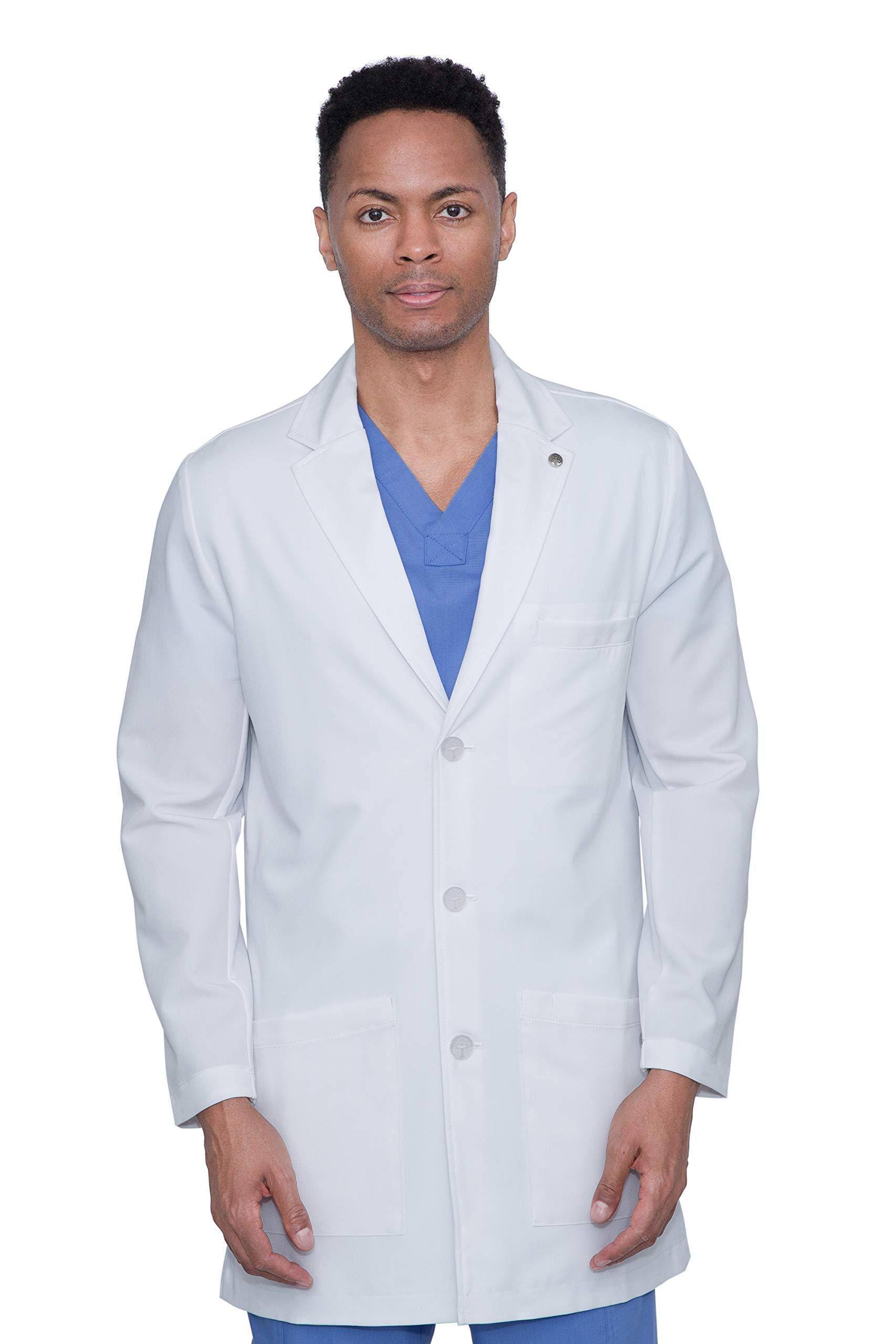 "healing hands White Coat Collection 5100"" Logan Lab Coat"