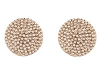 Touchstone Indian Bollywood Majestic Shield Round Shape Bahubali Inspired Designer Jewelry Earrings For Women