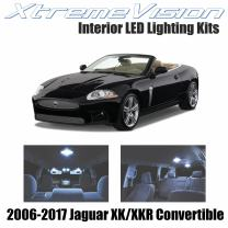 Xtremevision Interior LED for Jaguar XK/XKR Convertible 2006-2017 (14 Pieces) Cool White Interior LED Kit + Installation Tool