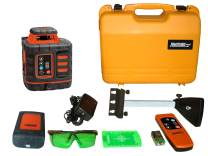 Johnson Level and Tool 40-6543 Self-Leveling Rotary Laser Level with GreenBrite Technology