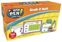 Power Pen Learning Cards: Math, Grade 2
