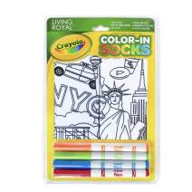 Living Royal Kids Color-In Socks New York State Of Mind