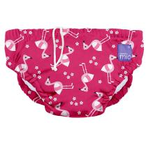 Bambino Mio, Reusable Swim Diaper, Extra Large (2 Years+), Pink Flamingo