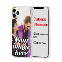 Custom Phone Case Compatible with iPhone 11 Pro, Personalized Customized Photo Soft Phone Case, DIY Create Your Own Photo Picture Design Custom Case for iPhone 11 Pro
