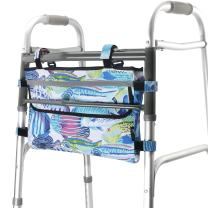 GUOER Walker Bag Suitable for Multiple Walking Aids Rollator Bag Multi-Size Multiple Colors (9.8Wx15.7L in, Color9813)