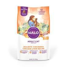 Halo Natural Dry Cat Food, Chicken & Chicken Liver Recipe