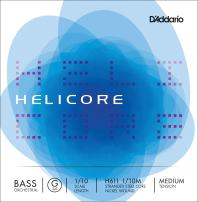 D'Addario Helicore Orchestral Bass Single G String, 1/10 Scale, Medium Tension
