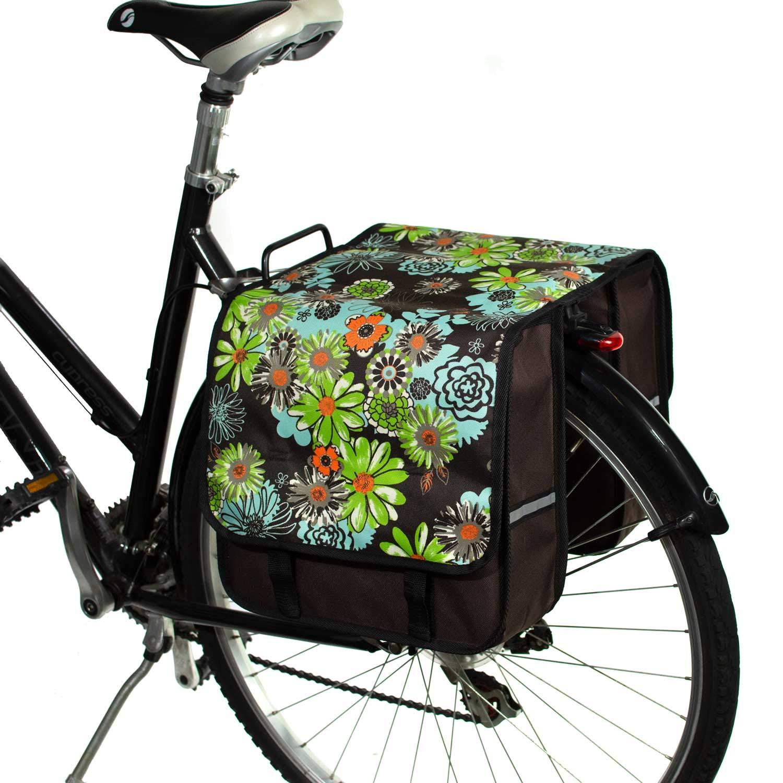 BikyBag Classic L - Double Panniers Bag Fashion Bicycle Cycle Bike Women's - Men's