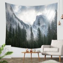 """ZBLX Tapestry, Forest Tapestry Wall Hanging Art Sets for Home Decor(59.1""""X82.7"""")。…"""