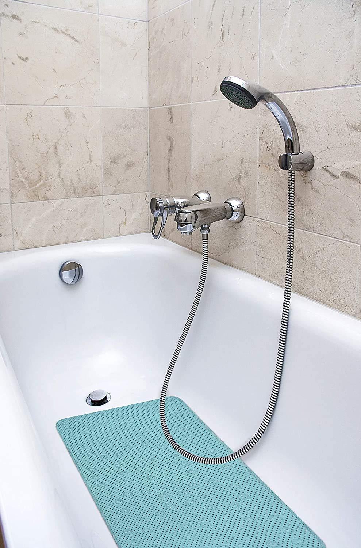 Splash Home Softee Bath Mat, 17 by 36-Inch, Teal