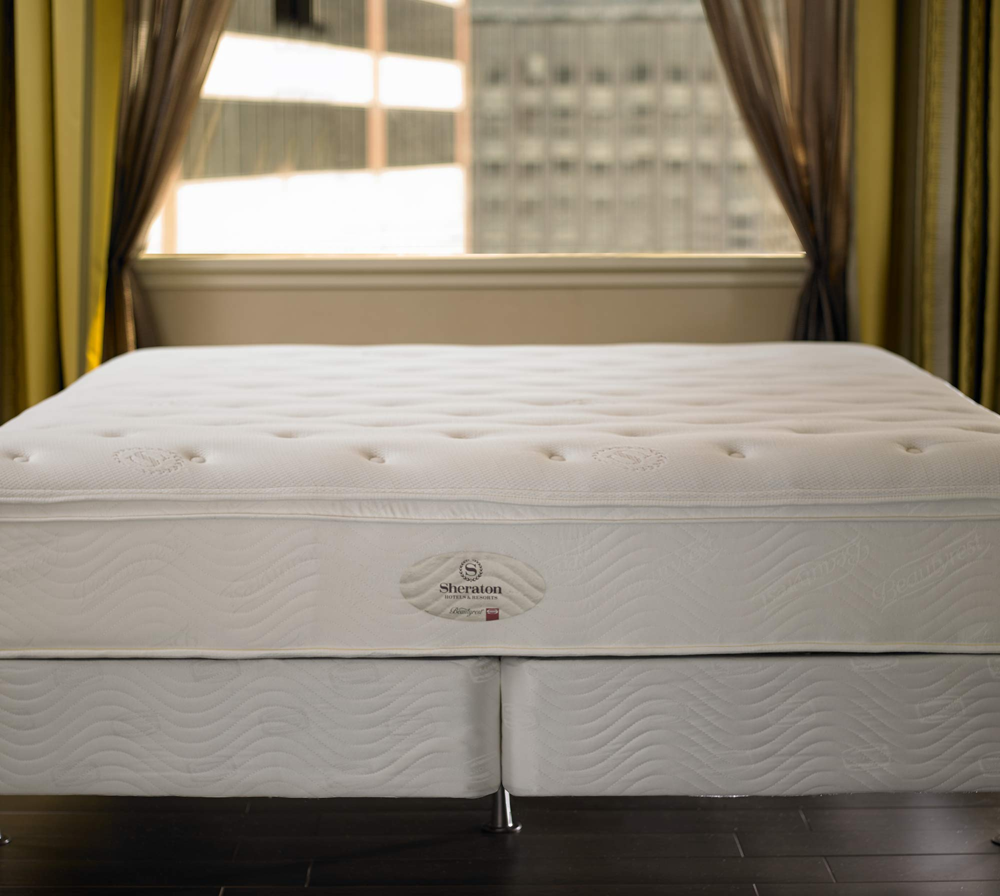 """Sheraton Mattress & Box Spring - 13"""" Pocket Coil Mattress with Quilted Plush Top - Standard 8.75"""" Box Spring - Full"""