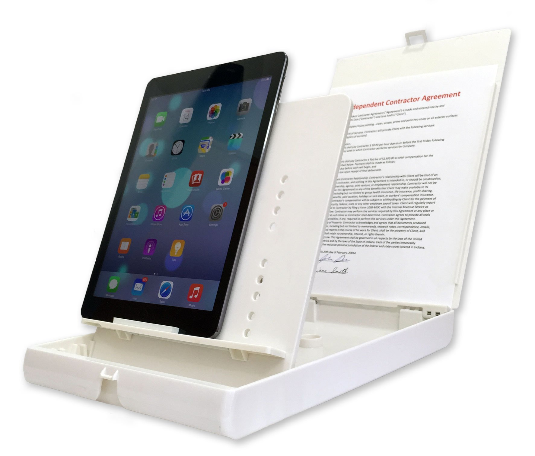 ScanJig Pro - Document Scanning Stand for Phones & Tablets (iPad Pro). Helps The Blind,Visually Impaired,Fine Motor Difficulties