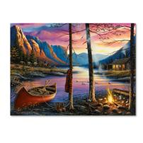 Home Sweet Home by Chuck Black, 35x47-Inch Canvas Wall Art