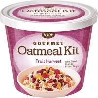 N'Joy Gourmet Oatmeal Kit, Fruit Harvest With Dried Fruit & Brown Sugar (Pack Of 8)