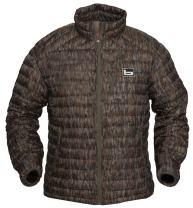 Banded Agassiz Goose Down Jacket