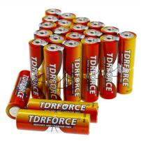 TDRFORCE AA Alkaline Batteries, Double A High Performance Battery Alkaline with 24 Count Pack