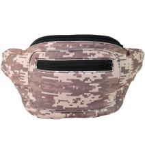 Camo Fanny Pack, Camouflage, Hidden Pocket, Party Army, Boho Chic & Handmade