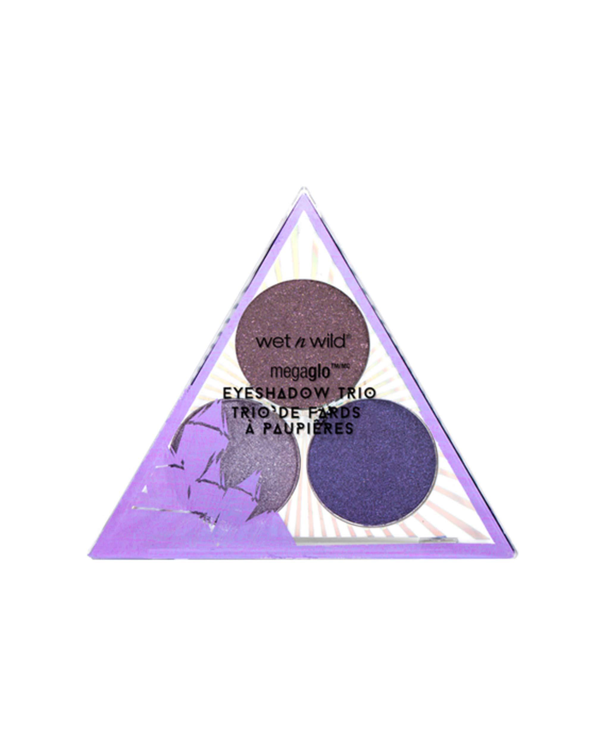 wet n wild Crystal Cavern Mega Glo Eyeshadow Trio, Amethyst