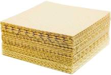 """Micro-Mat Minis Hydroponic Grow Pads - for Organic Production - Plant & Seed Germination: Wheatgrass, Microgreens, More - 4"""" x 4"""" to Fit 5"""" x 5"""" Greenhouse Plant Trays (96)"""