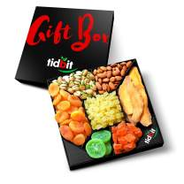 Fruit & Nut Platter, Perfect Gift Box For Everyone- For Healthy Snacking on a Night in-Healthy Gourmet Food Tidbit