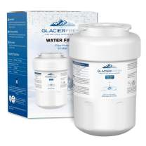 MWFWaterFilterReplacementforGERefrigerator, GLACIER FRESH NSF 42 Certified Cartridges Compatible with GE MWF SmartWater, MWFA, MWFP, GWF, GWFA, Kenmore 9991, 46-9991, HDX FMG-1, WFC1201, 1 Pack
