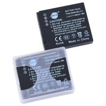 DSTE Replacement for 2X DMW-BCJ13 Li-ion Battery Compatible Panasonic Lumix DMC-LX5 LX5GK LX5K LX5W LX7 LX7GK LX7K LX7W Camera as DMW-BCJ13E