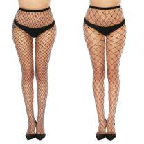 MANZI High Waist Tights Fishnet Stockings Thigh High Stockings Pantyhose