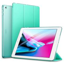 ESR Yippee Trifold Smart Case for iPad 9.7 2018/2017, Lightweight Smart Cover with Auto Sleep/Wake, Microfiber Lining, Hard Back Cover for iPad 9.7 iPad 5th / 6th Generation, Mint Green