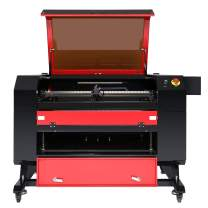 80 Watt Co2 Laser Engraver Machine 20 x 28 Inch Orion Motor Tech Laser Cutting, Laser Engraving Machine, Digital LCD Real Time Data and Power, Safety Sensor, USB Port, Air Assist, Software Included