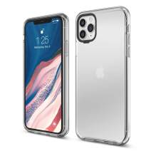 elago iPhone 11 Pro Max Clear Hybrid Case [Transparent] - Shockproof Hard PC + Soft TPU Buttons, Full Body Protection, Raised Lip (Screen & Camera Protection) [FIT Tested]