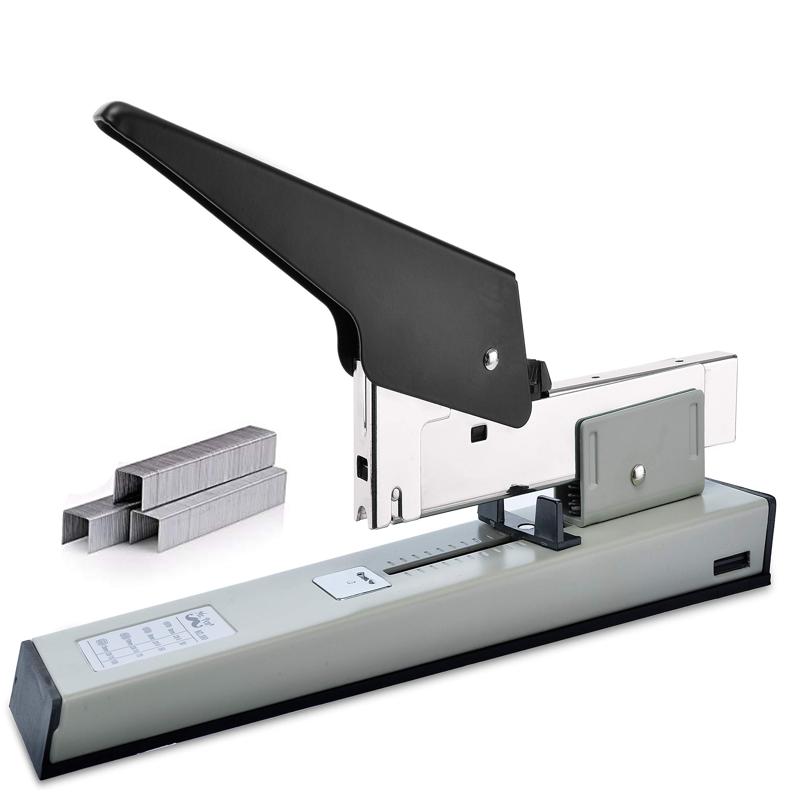 Mr. Pen- Heavy Duty Stapler with 1000 Staples, 100 Sheet High Capacity, Office Stapler, Desk Stapler, Big Stapler, Paper Stapler, Commercial Stapler, Large Stapler, Industrial Stapler, Heavy Stapler