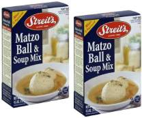 Streit's Matzo Ball & Soup Mix, Kosher For Passover, 4.5 Oz (Pack of 2)