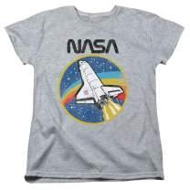 Popfunk NASA Retro Space Shuttle Women's T Shirt & Stickers