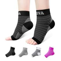 AVIDDA Ankle Brace for Men Women Pair Plantar Fasciitis Socks with Arch Support Compression Ankle Support Foot Sleeve for Achilles Tendon Support Swelling Eases Heel Pain Relief