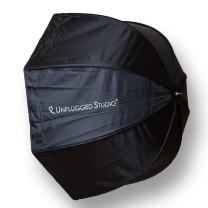 """UNPLUGGED STUDIO 32""""/ 80cm Umbrella Octagon Softbox with Carrying Bag for Portrait or Product Photography SB-080"""