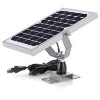 SUNER POWER 6V Waterproof Solar Battery Trickle Charger & Maintainer - 5 Watts Solar Panel Built-in Intelligent MPPT Solar Charge Controller + Adjustable Mount Bracket + SAE Cable Kits