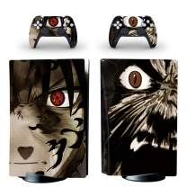 gotor Vinyl Sticker Pattern Decals Skin for PS5 Playstation 5 Console and 2 Controllers Skins (Playstation 5 Digital Edition, Type-Z)