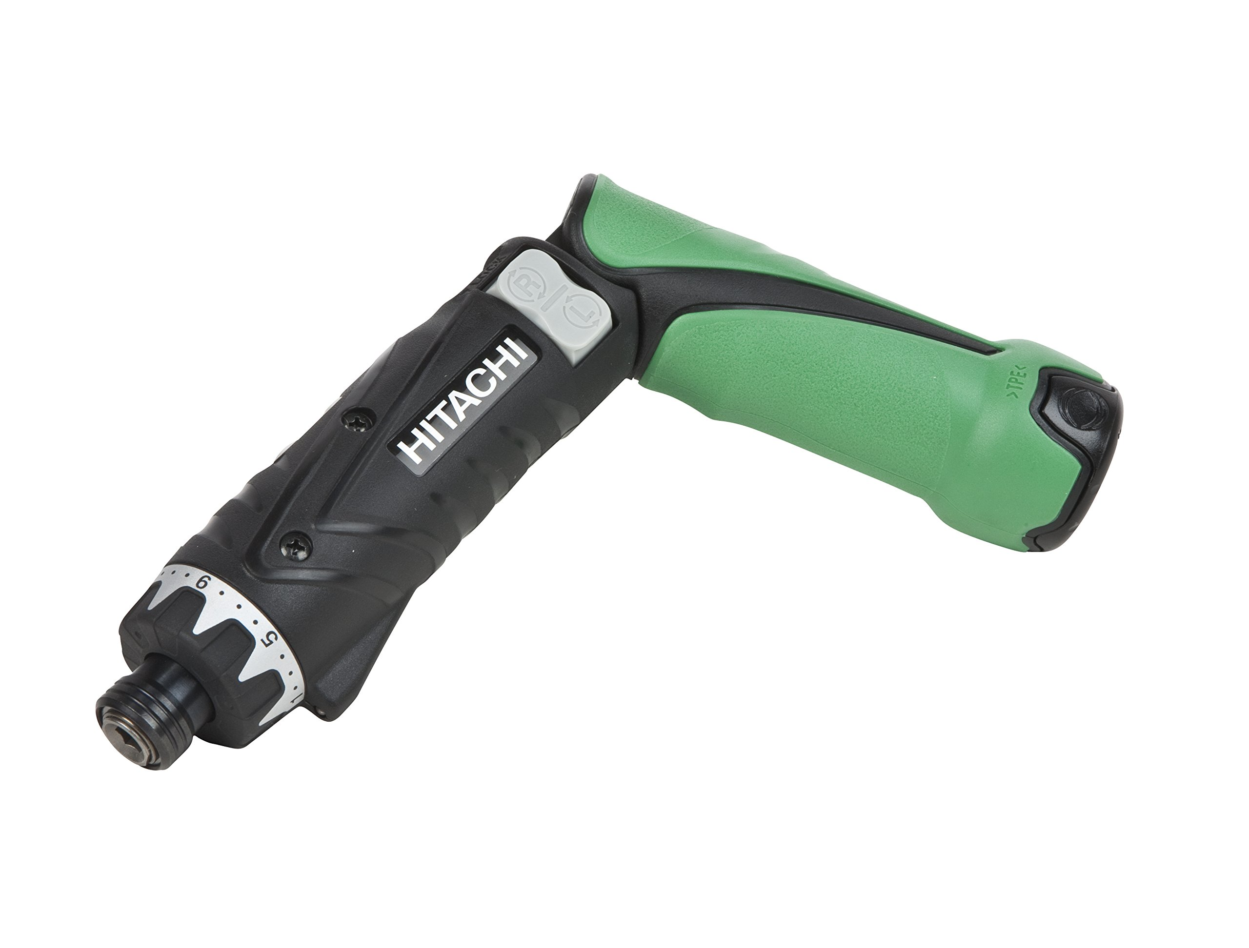 Hitachi DB3DL2 Power Cordless Screwdriver Kit, 3.6V 1.5Ah Lithium Ion Battery - 2, Dual Position, LED Light, Lifetime Tool Warranty (Discontinued by the Manufacturer)