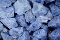 Fantasia Materials: 5 lbs AAA Grade Blue Calcite Rough Stones from Mexico