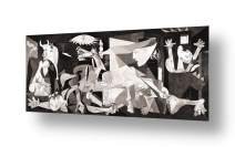 "Alonline Art - Guernica by Pablo Picasso | print on high quality fine art photo paper poster (Rolled) | 45""x20"" - 114x51cm 