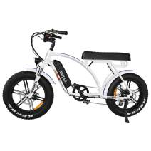 Addmotor Electric Bicycle Adult 20'' Fat Tire 48V11.6AH Removable Lithium-ion Battery 750W Electric Bike Power Assist Mountain Snow Beach Cruiser Motan M-60 R7 Mudguard Bicycle (4-8 Days Delivery)
