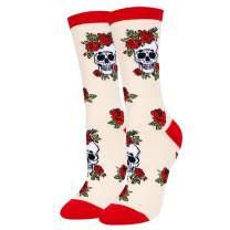 Zmart Women's Novelty Crazy Flower Gift, Fun Sunflower Lily Rose Lotus Socks