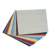 "Plastic Canvas Sheets 10-1/2"" x 13-1/2"" - Assorted (Pack of 12)"
