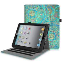 Fintie Case for iPad 2 3 4 (Old Model) - [Corner Protection] Multi-Angle Viewing Smart Stand Cover w/Pocket, Auto Sleep/Wake for iPad 2, iPad 3 & iPad 4th Gen with Retina Display, Shades of Blue