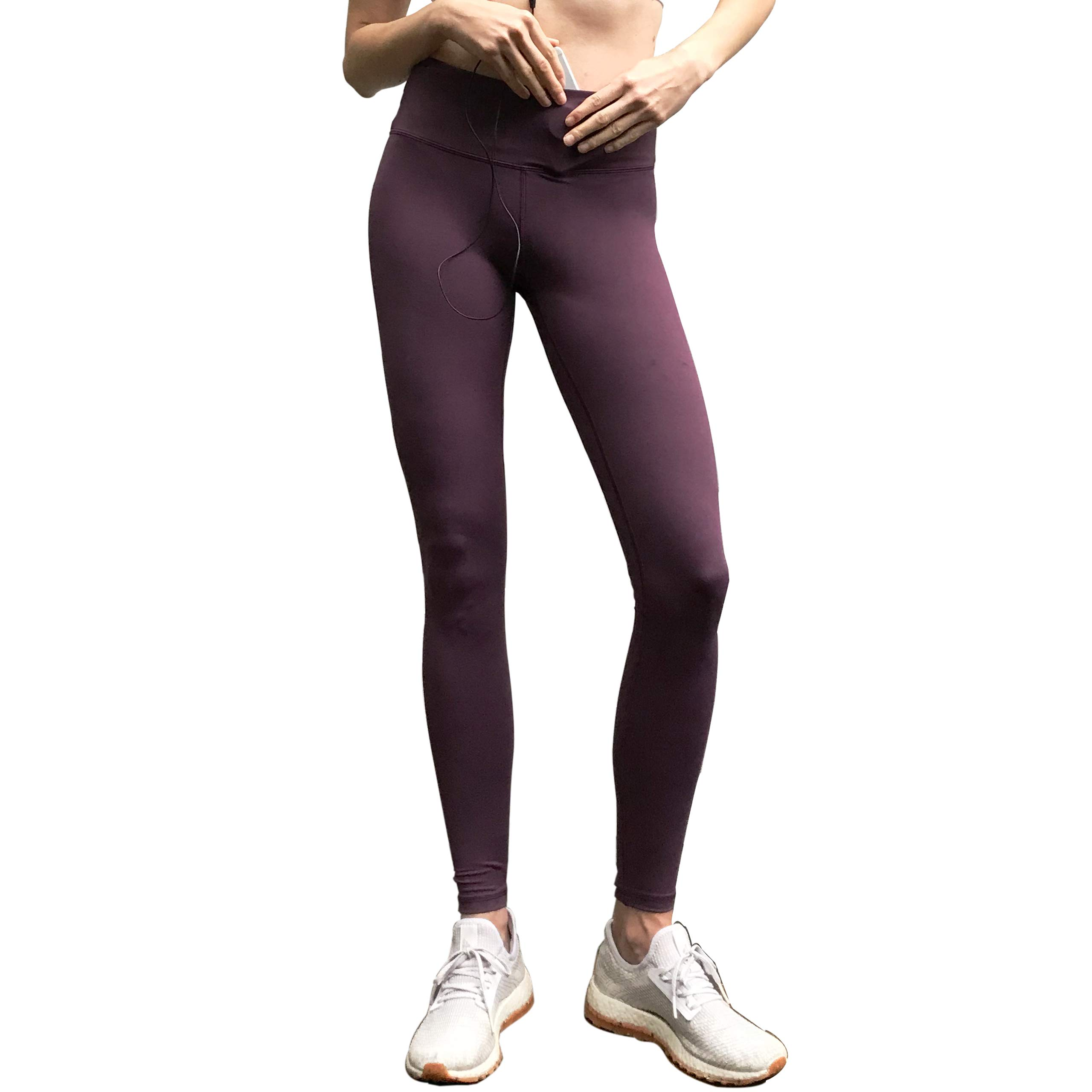Sport-it Women's High Waisted Yoga Pants with Pockets, Workout Running Leggings Tummy Control, Athletic High Waist Tights