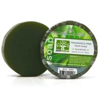 Neem Soap - 2 Pack - Fragrance Free - Face & Body - Glycerin, Coconut Oil, Aloe Vera & Oatmeal - Relieves Dryness, Maintains Healthy Skin - 4.2oz