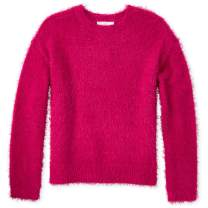 The Children's Place Girls' Big Graphic Sweater