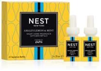 NEST Fragrances Amalfi Lemon & Mint Smart Home Fragrance Diffuser Refill (Set of 2)